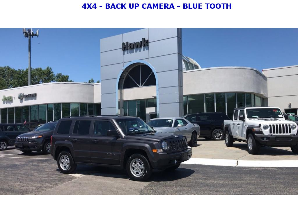 Pre-Owned 2016 Jeep Patriot 4WD Sport