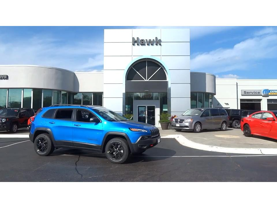 Pre-Owned 2018 Jeep Cherokee Trailhawk 4WD