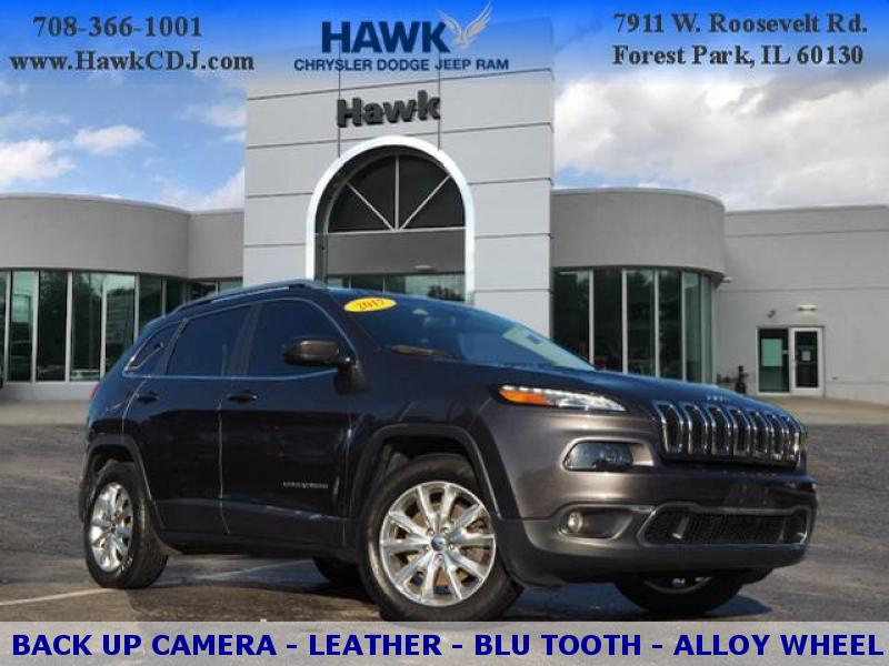Pre-Owned 2017 Jeep Cherokee AWD Limited