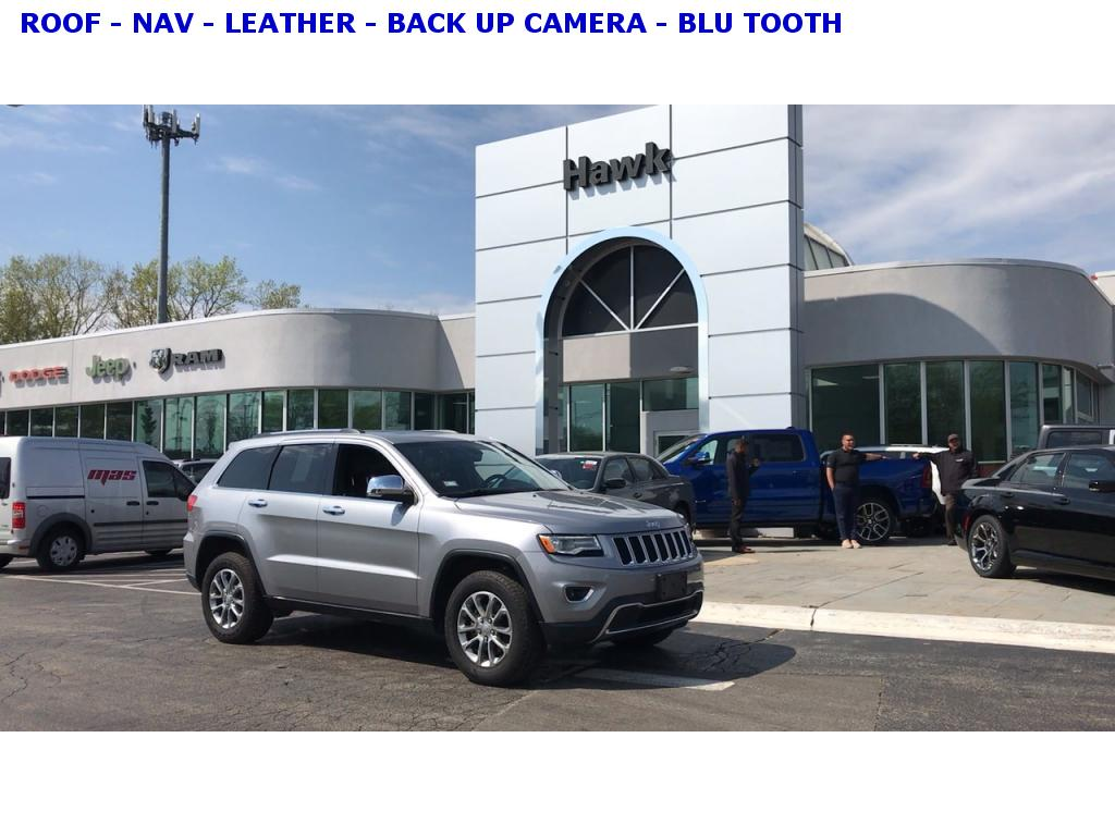 Pre-Owned 2016 Jeep Grand Cherokee Limited AWD