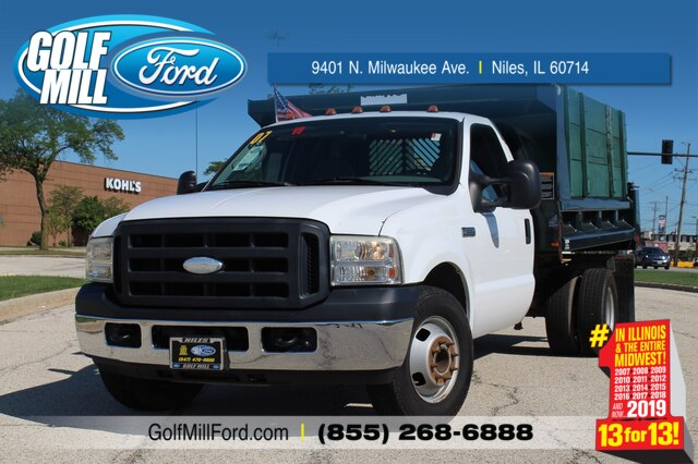 Pre-Owned 2007 Ford F-350 XL 11ft Dump Body