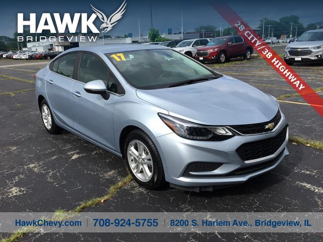 Pre-Owned 2017 Chevrolet Cruze LT FWD 4 Door Sedan