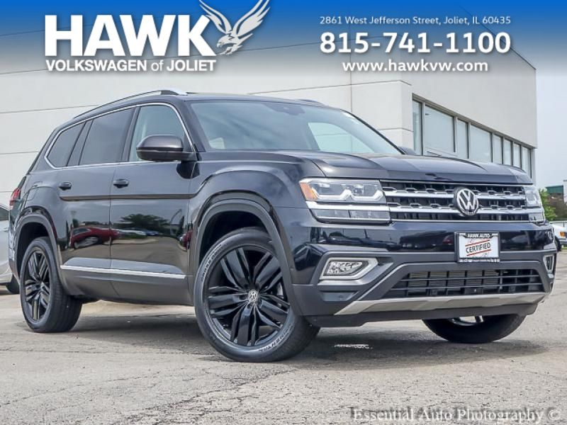 Certified Pre-Owned 2018 Volkswagen Atlas 3.6 SEL Premium