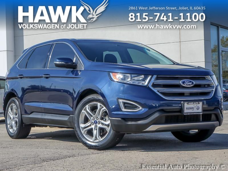 Pre-Owned 2017 Ford Edge AWD Titanium
