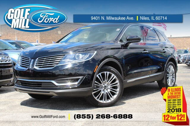 2016 Lincoln Mkt >> Pre Owned 2016 Lincoln Mkx Reserve Suv In Joliet X9599