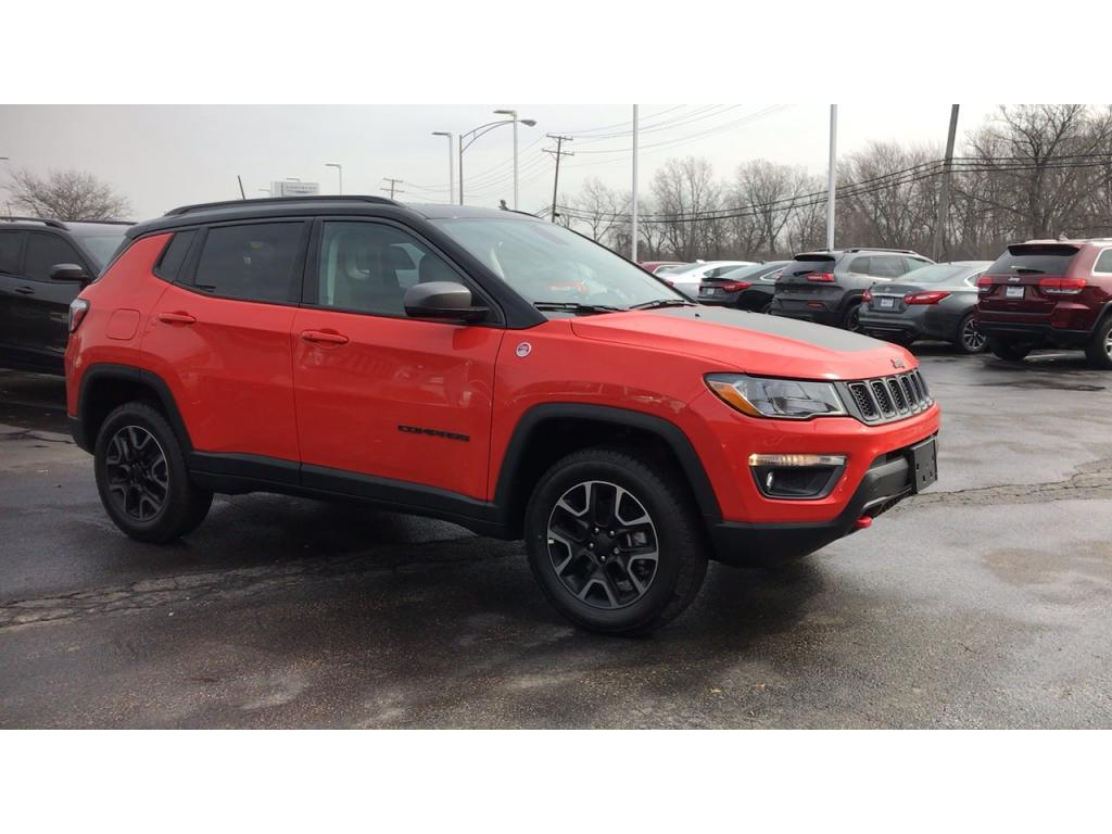 Pre-Owned 2019 Jeep Compass Trailhawk 4WD