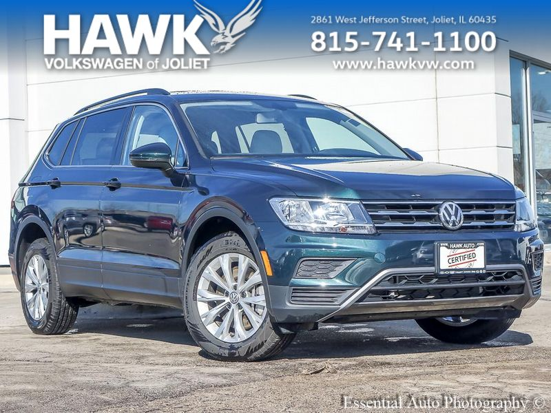 Certified Pre-Owned 2019 Volkswagen Tiguan SE 4Motion