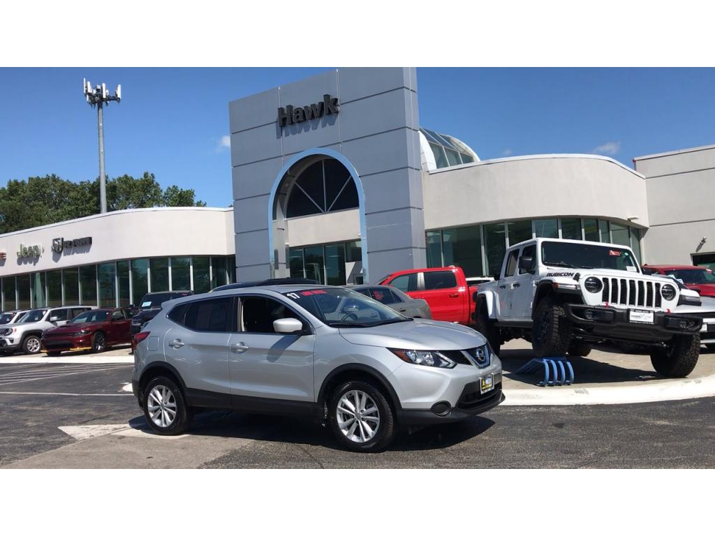 Pre-Owned 2017 Nissan Rogue Sport AWD S