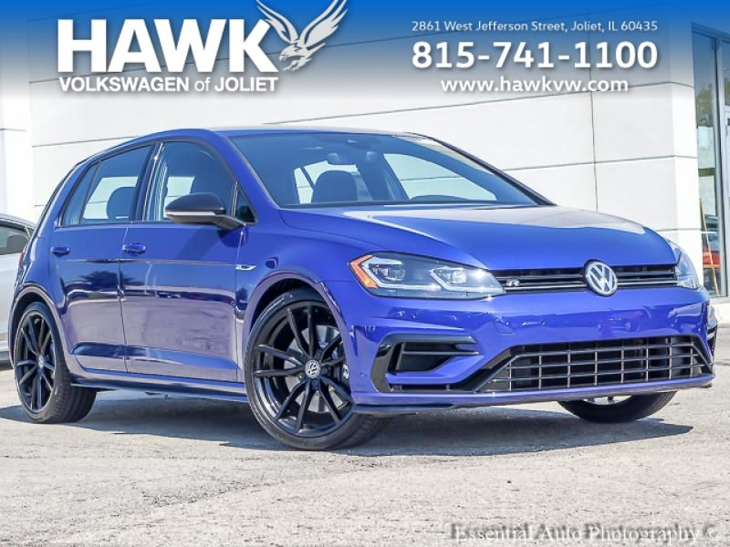 New 2019 Volkswagen Golf R 2.0T w/DCC & Navigation