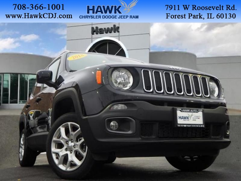 Pre-Owned 2018 Jeep Renegade 4wd Latitude