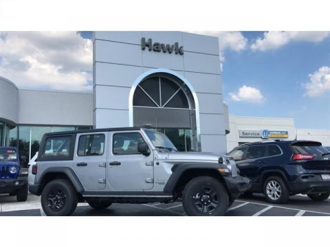 Pre-Owned 2018 Jeep Wrangler Unlimited Sport 4WD
