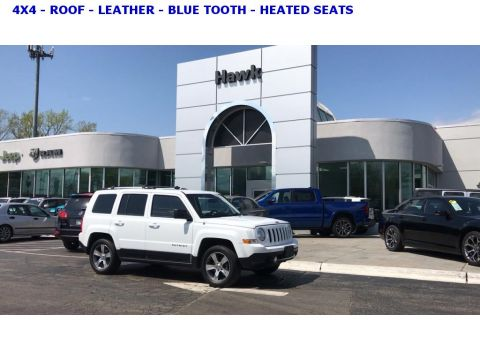 Pre-Owned 2017 Jeep Patriot HIGH ALTITUDE 4WD
