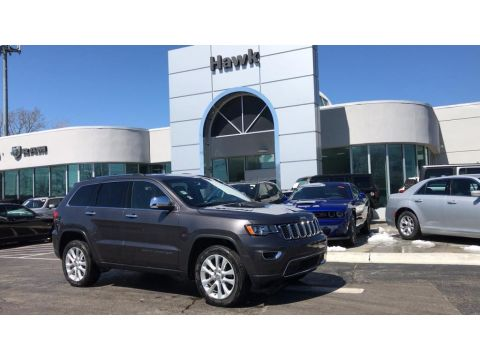 Pre-Owned 2017 Jeep Grand Cherokee Limited AWD