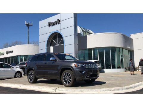 Pre-Owned 2018 Jeep Grand Cherokee Overland 4WD
