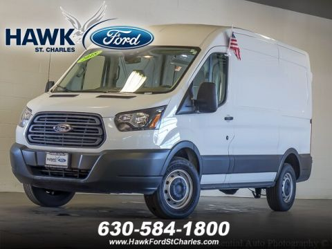 Pre-Owned 2018 Ford Transit-250 w/Sliding Pass-Side Cargo Door