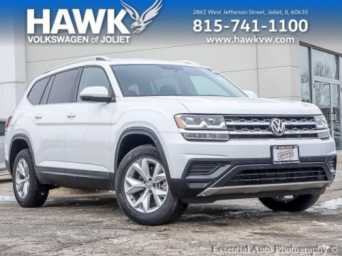 Certified Pre-Owned 2018 Volkswagen Atlas 2.0T S