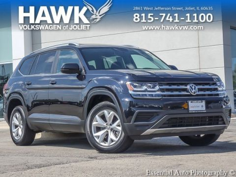 Certified Pre-Owned 2018 Volkswagen Atlas 3.6L V6 Launch Edition