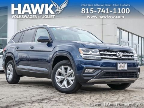 Certified Pre-Owned 2019 Volkswagen Atlas 3.6 SE w/Technology