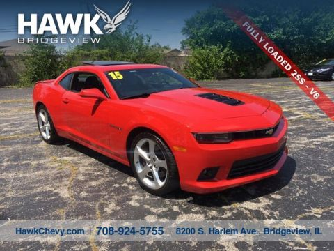 Pre-Owned 2015 Chevrolet Camaro 2SS RWD 2 Door Coupe