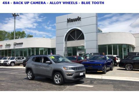 Pre-Owned 2018 Jeep Compass 4WD Latitude
