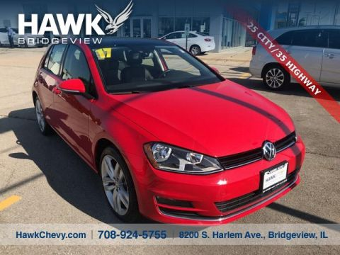 Pre-Owned 2017 Volkswagen Golf SEL