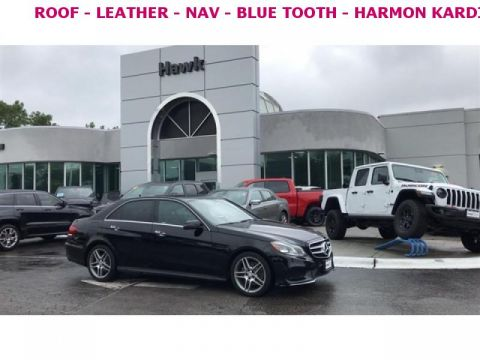 Pre-Owned 2015 Mercedes-Benz E-Class AWD E 350 Luxury